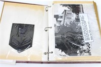 Rare Historic USMC Scrapbook of Donald McDonald