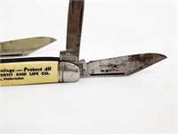 Vintage Men's Pins, Badges & Advertising Knives