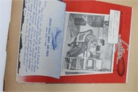 Rare Military Scrap Book With Documents/Photos