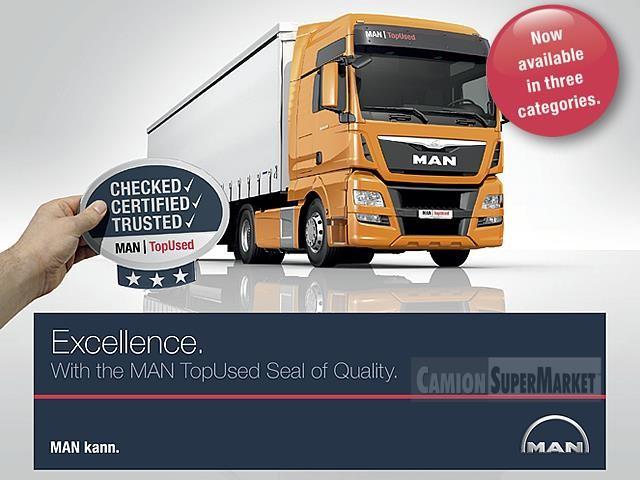 MAN TGX18.480 used 2016