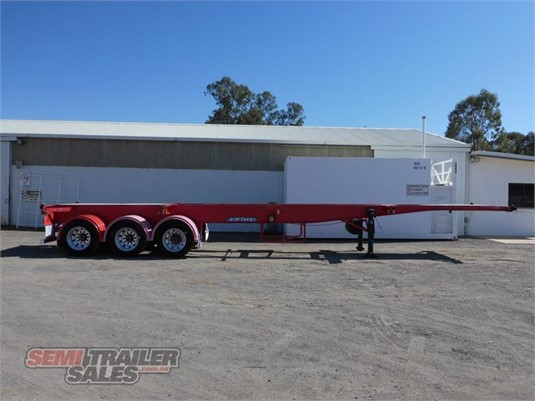 2009 Maxitrans Skeletal Trailer - Trailers for Sale