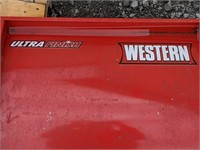 """78"""" Western UniMount Plow Blade and A frame"""