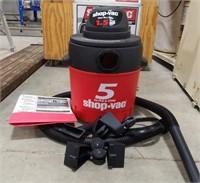 5 gallon shop vac 1.5 HP