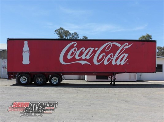2007 Vawdrey Curtainsider Trailer Semi Trailer Sales - Trailers for Sale