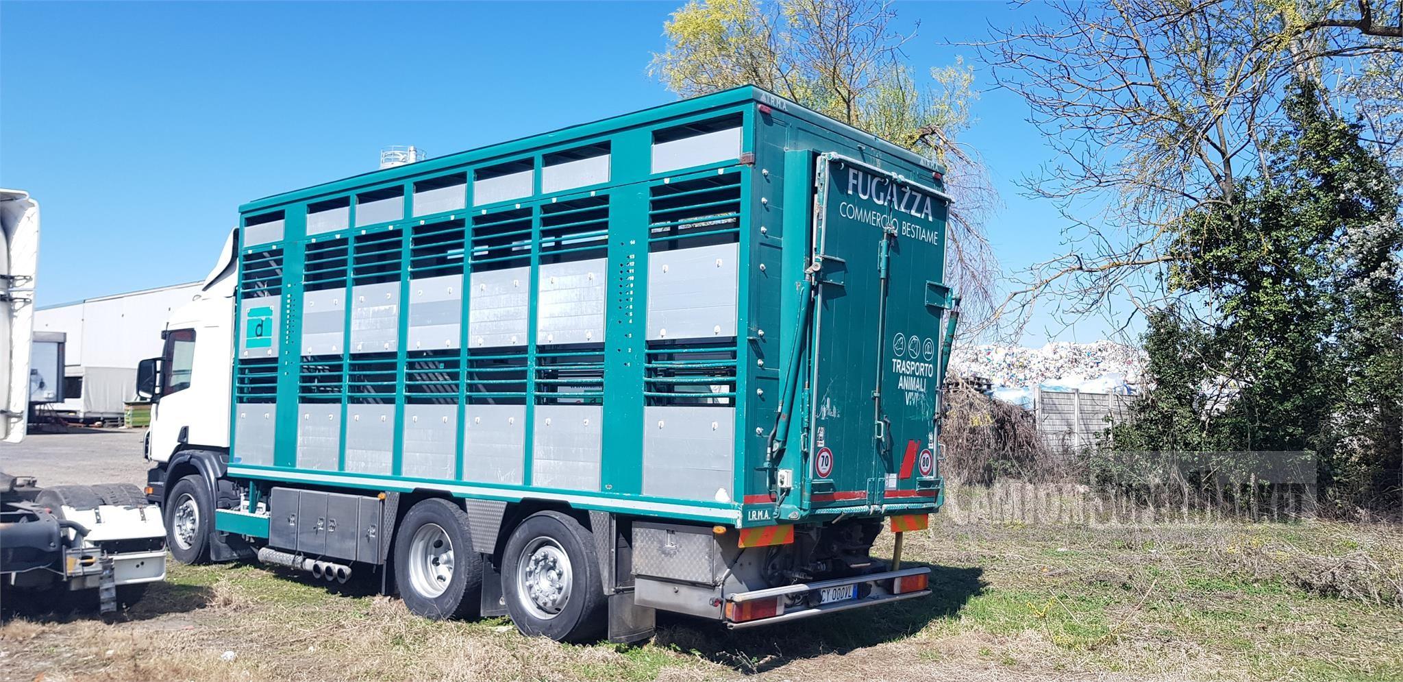 Scania P380 used 2005 Lombardia