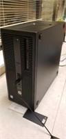 HP computer, monitor with keyboard
