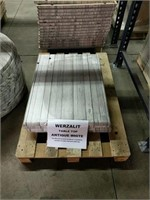 Antique White Werzalit Table Top -Qty 19