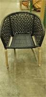 Fiji - Arm Chair - Star Weave - Expresso -Qty 19