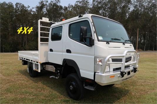 2012 Fuso Canter 4x4 Crew Cab - Trucks for Sale