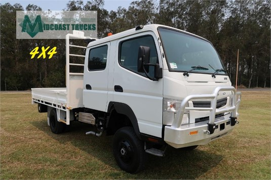 2012 Fuso Canter 4x4 Crew Cab Midcoast Trucks - Trucks for Sale
