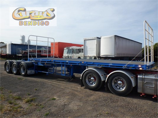 2003 Maxitrans Flat Top Semi A Trailer Grays Bendigo  - Trailers for Sale