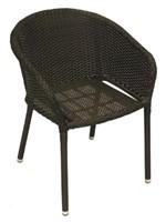 Fiji Standard Weave Chair - Expresso -Qty 7
