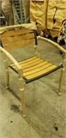 Curacao Arm Chair - Black Pepper -Qty 90