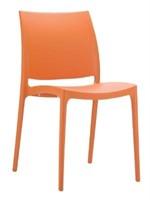 Martinique Side Chair - Orange -Qty 80