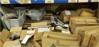 Assorted parts, screws, bolts, glides,