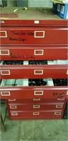 Steel cabinets, Multi-draw, glides,