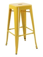 Manhattan Barstool without back - Yellow -Qty 36