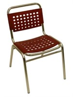 South Miami Beach Side Chair Red - Qty 39