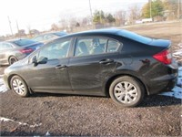 2012 HONDA CIVIC 187205 KMS