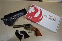 Ruger Wrangler 22LR w/ Leather Holster & Box