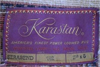 "Karastan 2' 10"" X 5' Rug"