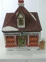 Depart 55 Dickens Village Thomas Kersey Coffee Hse
