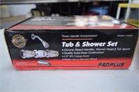 2 Tub & Shower Sets