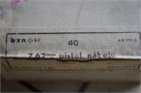 1360 Rounds 7.62MM Pistol