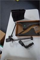 Gun Tripod & Magazine
