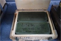 Unopened Crate of 7.92 Ammo