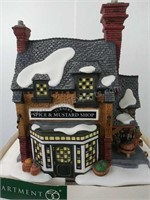 Department 56 Turner's Spice and Mustard Shop