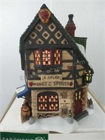 Department 56 E Tipler Agent For Wines And Spirits