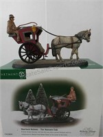 Department 56 Sherlock Holmes the Handsom cab