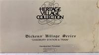 "Dickens Village Series ""Chadbury Station & Train"""