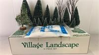 Village Landscape 14 piece set