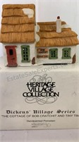 "Dickens Village Series ""The Cottage of Bob"