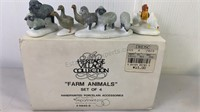 "The Heritage Village Collection ""Farm Animals"""