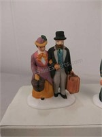 Heritage Village Collection holiday Travelers set