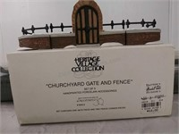 Heritage Village Collection Churchyard gate and