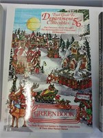 Department 56 books license plate cover and