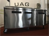 Commercial Food Prep Table Refrigerator