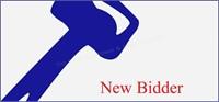 NEW BIDDER - INFORMATION