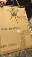 Black 5018 Stone Base square -Qty 6