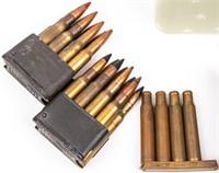 Ammo Lot 200+ Rounds Mixed Rifle Ammunition
