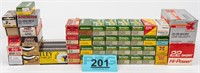 Ammo Lot of 2000+ Rounds of .22 cal Ammunition