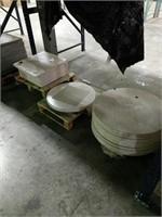 Traverine Werzalit Table Top -Qty 20