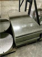 Granite Werzalit Table Top -Qty 89