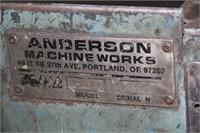 Anderson Belt Sander in Working Condition