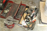 Lot of Assorted Tools & Machine Accessories
