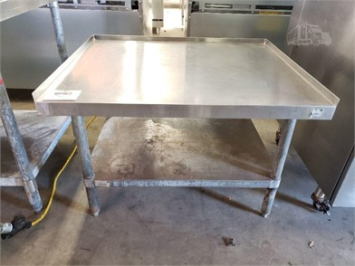 36'' STAINLESS EQUIPMENT STAND Other Items For Sale - 2 ... on
